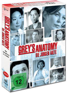Grey's Anatomy: Staffel 02 Box (8 DVDs)