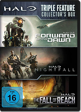 Halo - Triple Feature Collector's Box (3 DVDs)
