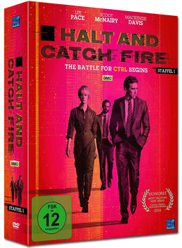 Halt and Catch Fire: Staffel 1 Box (4 DVDs)