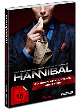 Hannibal: Staffel 1 Box (4 DVDs)