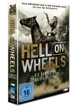 Hell on Wheels: Staffel 3 Box (3 DVDs)