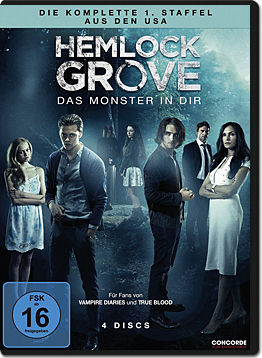 Hemlock Grove: Staffel 1 Box (4 DVDs)