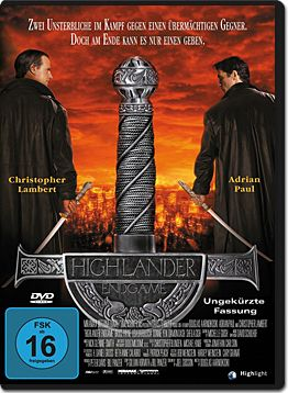 Highlander 4: Endgame (2 DVDs)