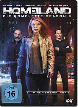 Homeland: Staffel 6 (4 DVDs)