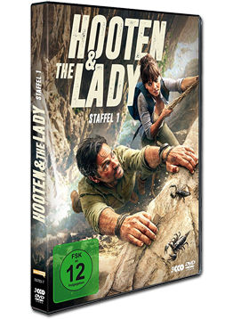 Hooten & the Lady: Staffel 1 Box (3 DVDs)