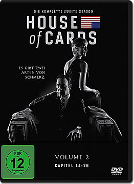 House of Cards: Staffel 2 (4 DVDs)