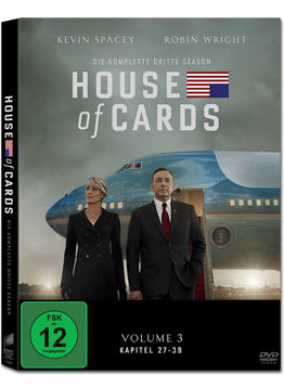 House of Cards: Staffel 3 Box (4 DVDs)