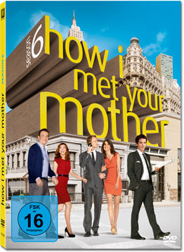 How I met your Mother: Season 6 Box (3 DVDs)