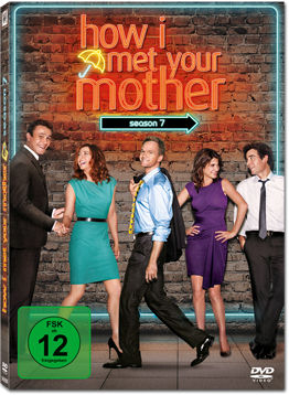 How I met your Mother: Season 7 Box (3 DVDs)