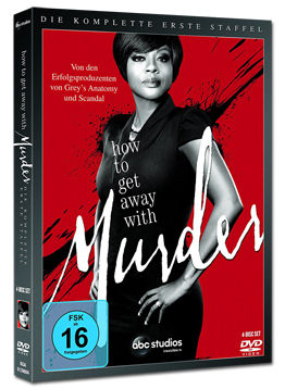 How to Get Away with Murder: Staffel 1 Box (4 DVDs)