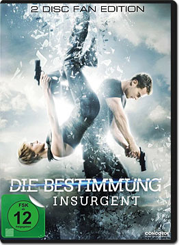 Die Bestimmung: Insurgent - Fan Edition (2 DVDs)