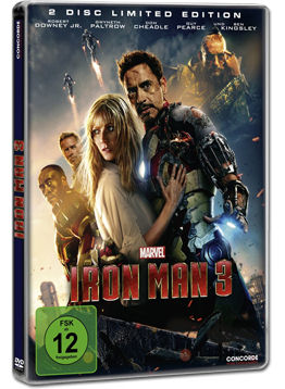 Iron Man 3 - Limited Steelbook Edition (2 DVDs)