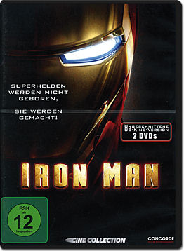 Iron Man 1 - Limited Extended Edition (2 DVDs)