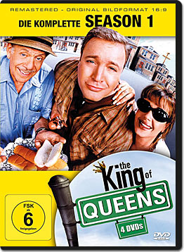 King of Queens: Staffel 1 Box (4 DVDs)