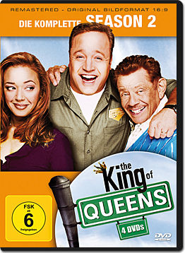 The King of Queens: Staffel 2 Box (4 DVDs)