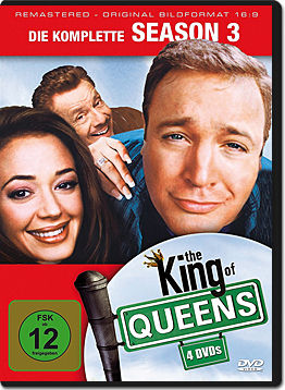 The King of Queens: Staffel 3 Box (4 DVDs)