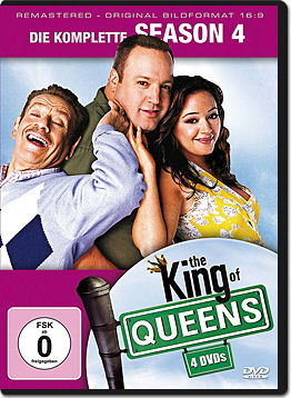 The King of Queens: Staffel 4 Box (4 DVDs)
