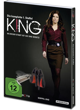 King: Staffel 1 Box (2 DVDs)