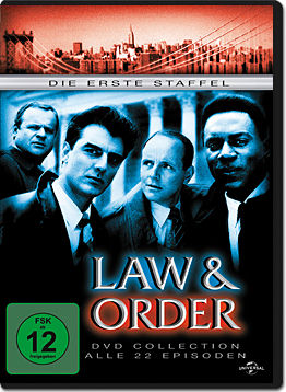 Law & Order: Season 1 Box (6 DVDs)