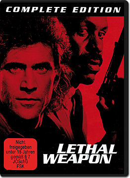 Lethal Weapon 1-4 Complete Edition (8 DVDs)