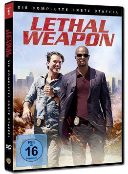 Lethal Weapon: Staffel 1 Box (4 DVDs)