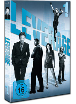 Leverage: Staffel 1 Box (3 DVDs)