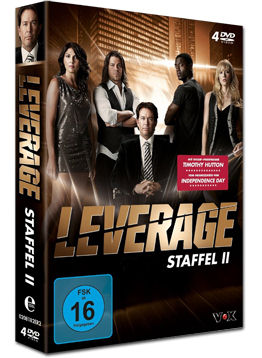 Leverage: Staffel 2 Box (4 DVDs)
