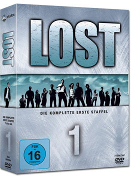 Lost: Staffel 1 Box (7 DVDs)