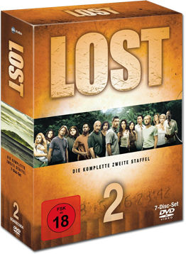 Lost: Season 2 Box (7 DVDs)