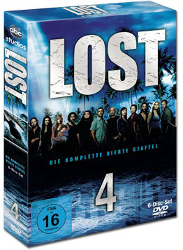 Lost: Staffel 4 Box (6 DVDs)