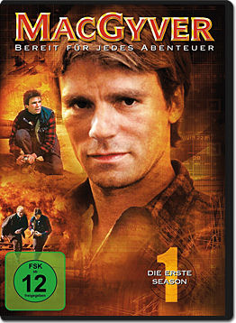 MacGyver: Staffel 1 (6 DVDs)