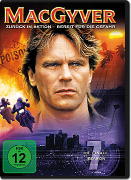 MacGyver: Season 7 Box (4 DVDs)
