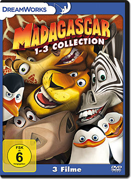 Madagascar 1-3 Collection (3 DVDs)