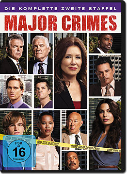 Major Crimes: Staffel 2 Box (4 DVDs)