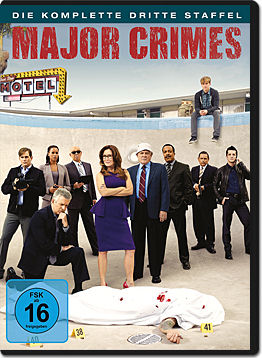 Major Crimes: Staffel 3 Box (4 DVDs)