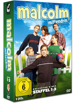 Malcolm Mittendrin - Staffel 1-3 Collector's Box (9 DVDs)