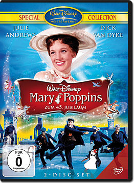 Mary Poppins - Jubiläumsedition (2 DVDs)