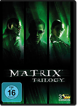 Matrix 1-3 Trilogy (3 DVDs)
