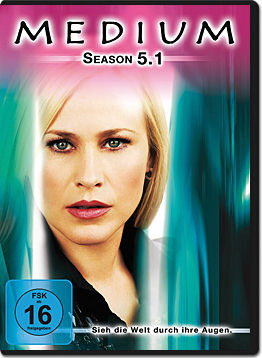Medium: Season 5.1 (2 DVDs)