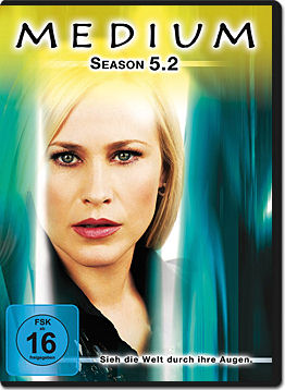 Medium: Season 5.2 (3 DVDs)
