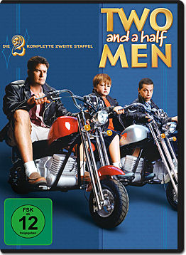 Two and a Half Men: Staffel 02 Box (4 DVDs)