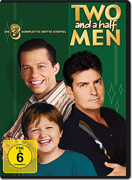 Two and a Half Men: Staffel 03 Box (4 DVDs)