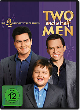 Two and a Half Men: Staffel 04 Box (4 DVDs)