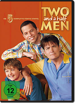 Two and a Half Men: Staffel 05 Box (3 DVDs)