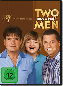Two and a Half Men: Staffel 07 Box (4 DVDs)