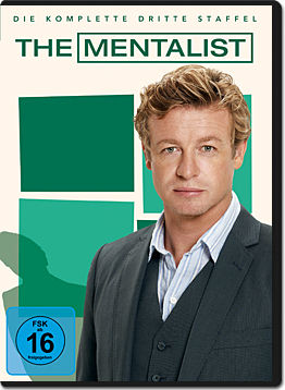 The Mentalist: Staffel 3 Box (5 DVDs)