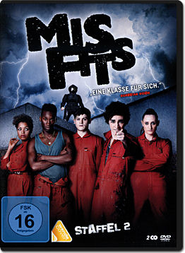 Misfits: Staffel 2 Box (2 DVDs)