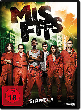 Misfits: Staffel 4 Box (3 DVDs)