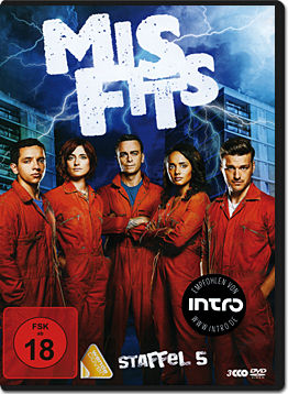 Misfits: Staffel 5 Box (3 DVDs)