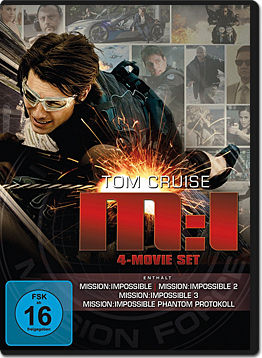 Mission: Impossible - 4-Movie Set (4 DVDs)